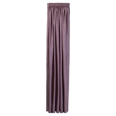 Tesco Faux Silk Lined pencil pleat Curtains W112xL137cm (44x54