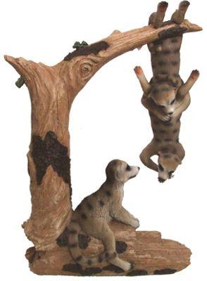 Solar Swinging Meerkat With White LED