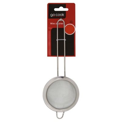 Go Cook Small Stainless Steel Tea Strainer