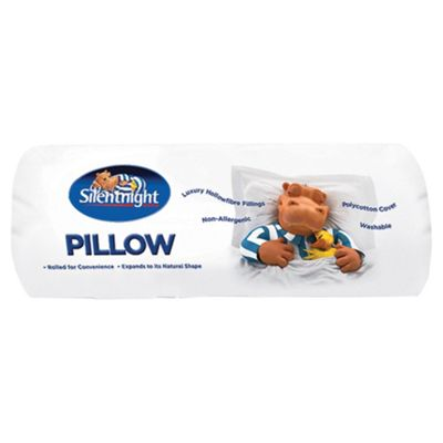 Silentnight Non-Allergenic Rolled Pillow