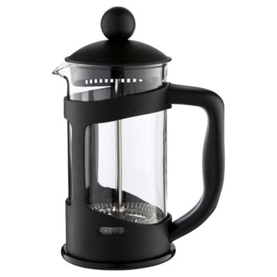 buy black plastic cafetiere 3 cup from our cafetieres. Black Bedroom Furniture Sets. Home Design Ideas