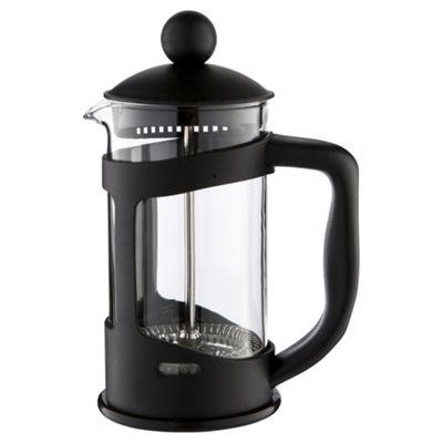 Black Plastic Cafetiere, 3 Cup