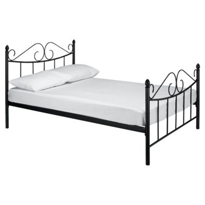 Monroe Double Bed Frame, Black