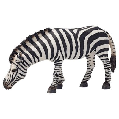 Schleich Zebra, Grazing