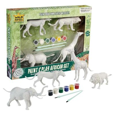Wild Republic Paint & Play Africa Set