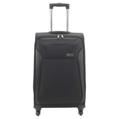 Revelation by Antler Nexus 4-Wheel Suitcase, Black Medium