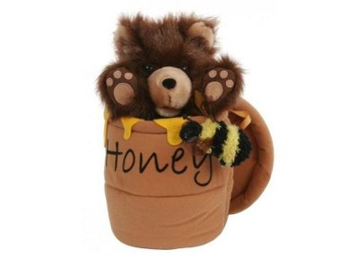 The Puppet Company Bear in a Honey Pot Puppet