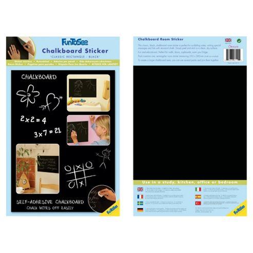 FunToSee Blackboard/Chalkboard Wall Sticker