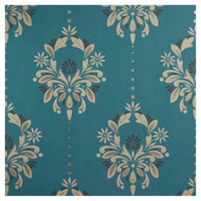 Dulux Antoinette Wallpaper, Peacock