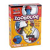 Great Gizmos Zoobdude Fireman Adventure Hero