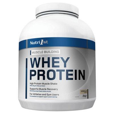Nutri 1st Whey Protein Vanilla 2kg