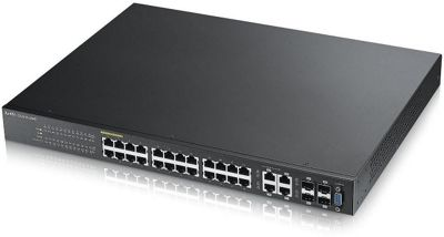 Zyxel GS2210-24HP 24-port GbE L2 PoE Switch