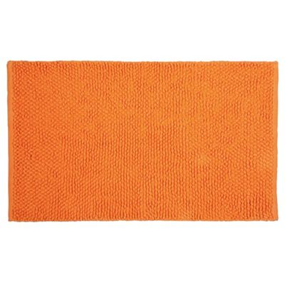 Tesco Chenille Loop Mat Orange