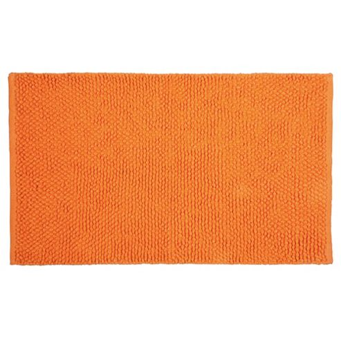 Tesco Chenille Loop Mat Orange