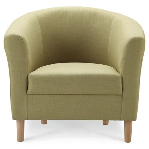 Tub Fabric Accent Chair, Pistachio