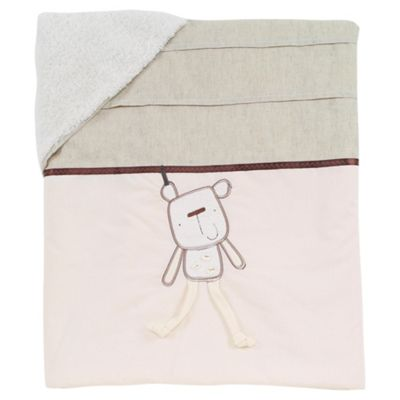 Lollipop Lane Out To Dry Baby Coverlet 110X130 cm