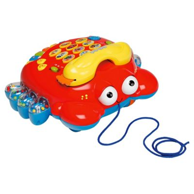 Lexi Blah Blah Toy Crab Phone