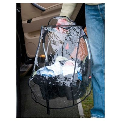 Infant Car Seat Rain Cover, Transparent