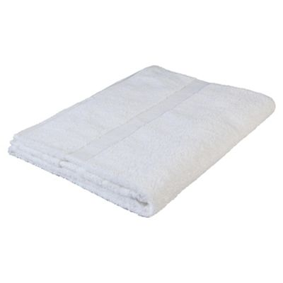 Finest Pima Bath Sheet White