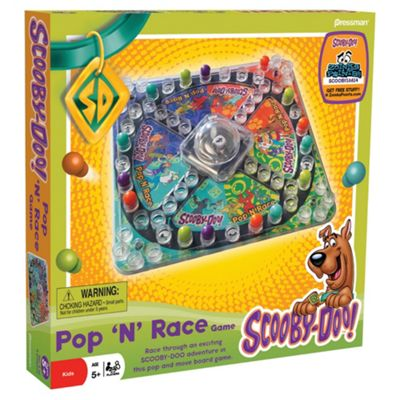 Scooby Doo Pop'N'Race Game