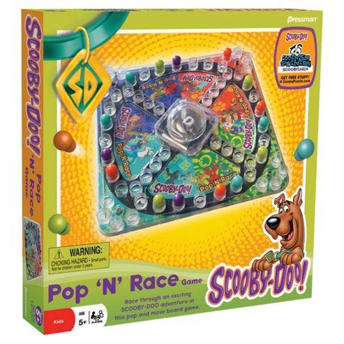 Scooby Doo Pop'N'Race Game