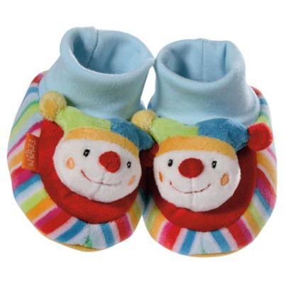 BabyFehn Rattling Clown Booties