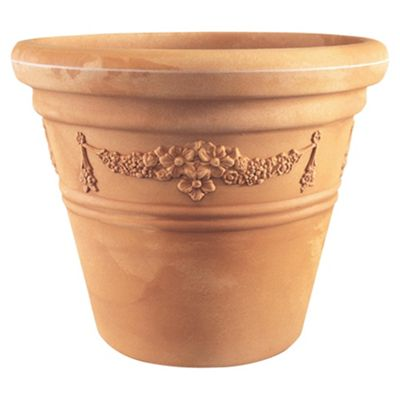 Small Garland Pot Terracotta W30cmxH25cm