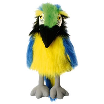 The Puppet Company Blue & Gold Macaw Puppet