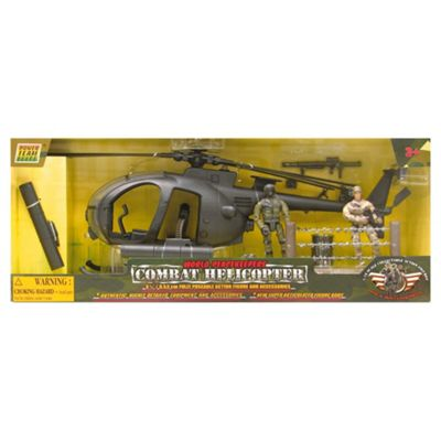 World Peacekeeper's Combat Helicopter- Assortment – Colours & Styles May Vary