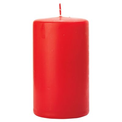 Tesco spiced wild berry pillar candle