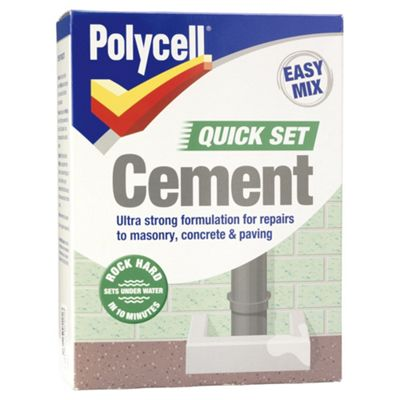 Polycell Quick Set Cement 2kg