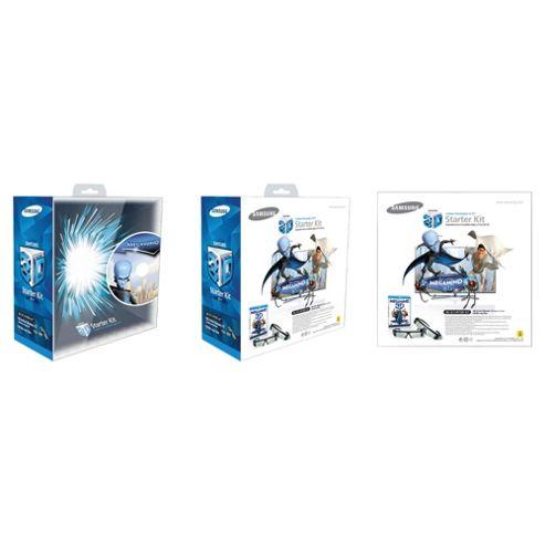 Samsung SSG-P3100M/XC Megamind 3D Pack with 2 x 3D Glasses