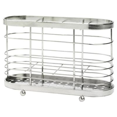 Stainless Steel Cutlery Drainer