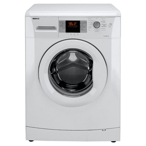 Beko WMB71642W Washing Machine, 7kg Wash Load, 1600 RPM Spin, A++ Energy Rating. White