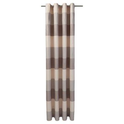 Stripe Taffetta Eyelet Curtains W163xL137cm (64x54