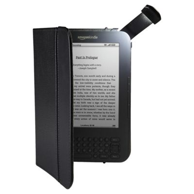 Kindle Keyboard Leather Cover with Light