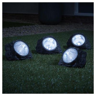 Tesco solar rock light 4 pack