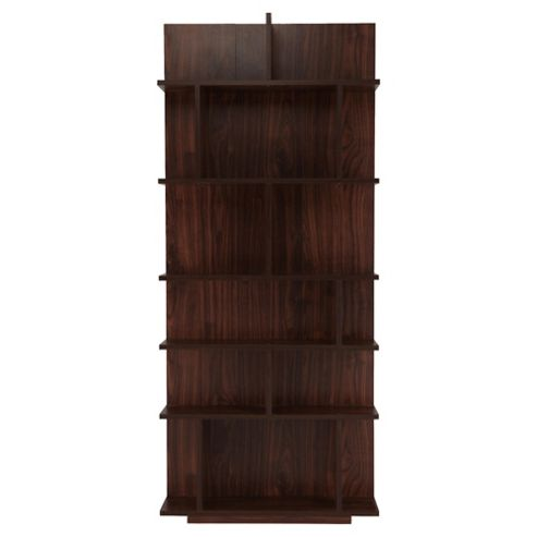 Genoa Shelving Unit, Walnut-Effect