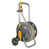 Hozelock Hose Reel Cart with Hose, 50m
