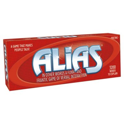 Alias Board Game