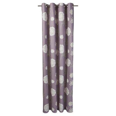 Tesco Meadow Print lined eyelet Curtains W163xL137cm (64x54