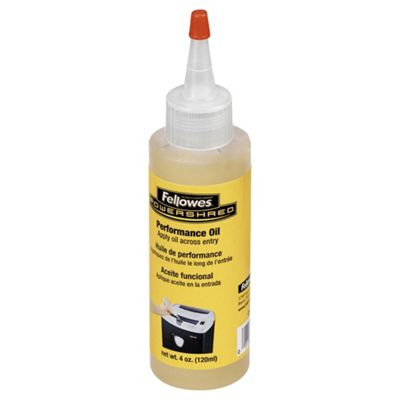 Fellowes Performance Oil for Cross Cut shredder 120 ML