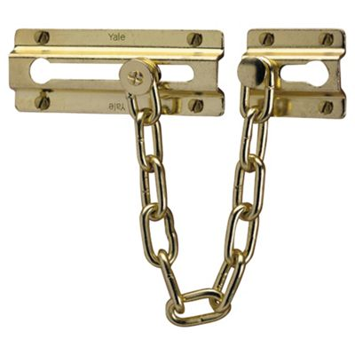 Yale Door Chain - Brass