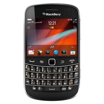 Tesco Mobile BlackBerry® Bold™ 9900 Black