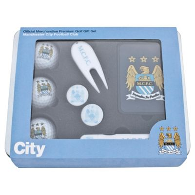 Manchester City Premium Golf Tin Set
