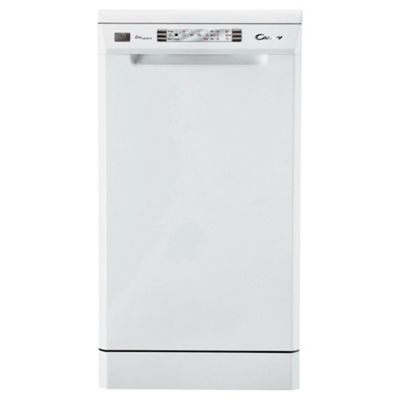 Candy CDP4610 Slimline Dishwasher - White
