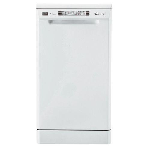 Candy CDP4610 Slimline Dishwasher - White