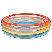 Tesco 6ft Rainbow Paddling Pool