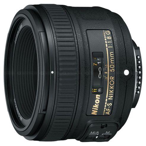 Nikon JAA015DA 50 mm F1.8G AF-S Nikkor Lens
