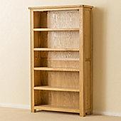 Roseland Oak Bookcase - Medium Bookcase - Waxed Oak